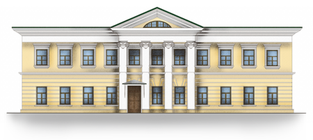 Mansion in Lusinovsky pereulok